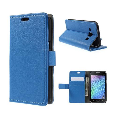 Mankell (Blå) Samsung Galaxy J1 Fodral med Plånbok