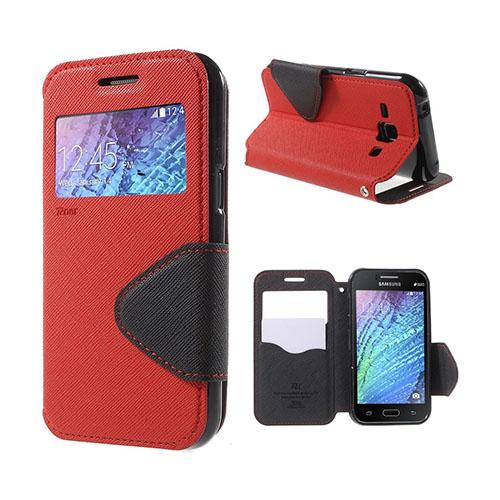 Roar Korea Samsung Galaxy J1 Flip Fodral – Röd