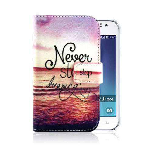 Moberg Samsung Galaxy J1 Fodral – Never Stop Dreaming