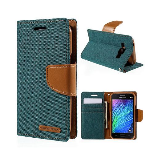 MERCURY GOOSPERY Samsung Galaxy J1 Fodral – Grön