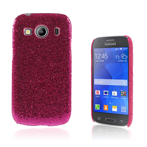 Seierstad Skal till Samsung Galaxy Ace 4 – Rosa Glitter