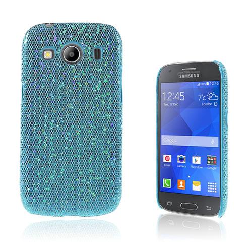 Seierstad Skal till Samsung Galaxy Ace 4 – Blå Glitter