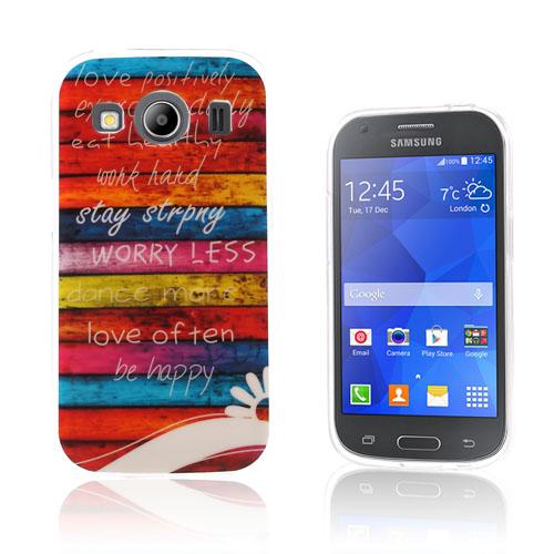 Westergaard TPU Skal till Samsung Galaxy Ace 4 – Färgglada Ränder