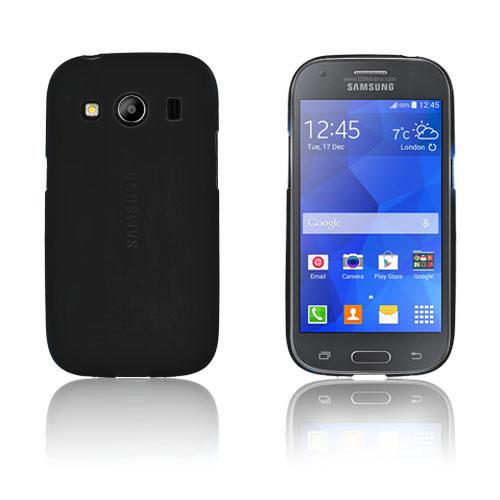 Wulff Matte TPU Skal till Samsung Galaxy Ace 4 – Svart