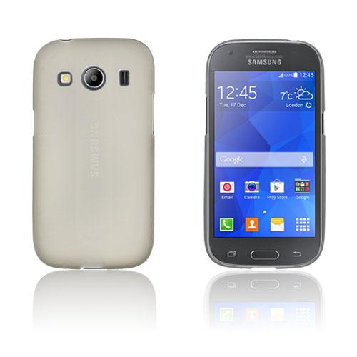Wulff Matte TPU Skal till Samsung Galaxy Ace 4 – Grå