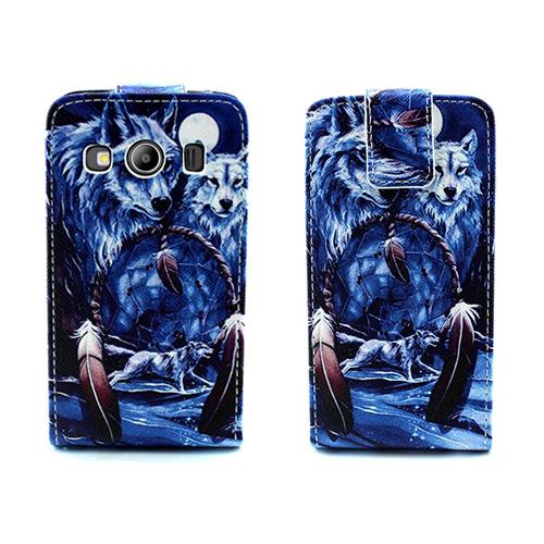 Knausgaard Fodral till Samsung Galaxy Ace 4 – Cool Varg & Drömfångare