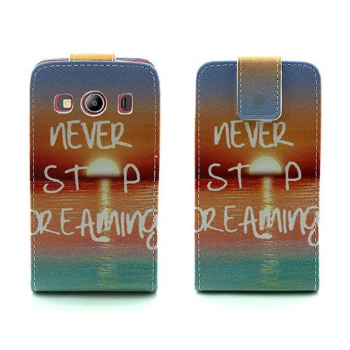Knausgaard Fodral till Samsung Galaxy Ace 4 – Never Stop Dreaming