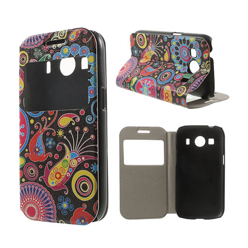 Moberg View Fodral till Samsung Galaxy Ace 4 – Paisleyblommor