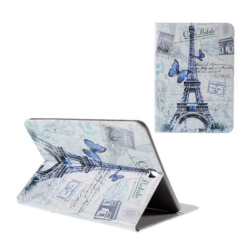 Moberg Samsung Galaxy Tab S2 9.7 Fodral – Fjärilar & Eiffeltornet