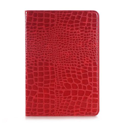 Marx Samsung Galaxy Tab S2 9.7 Krokodil Läderfodral – Röd