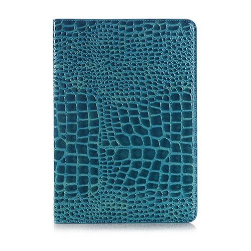 Marx Samsung Galaxy Tab S2 9.7 Krokodil Läderfodral – Blå
