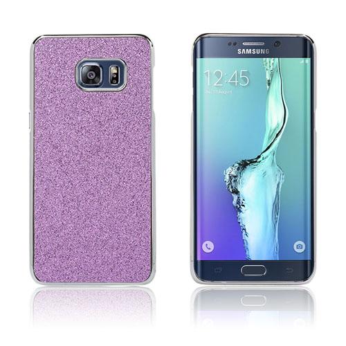 Holt Glitter Skal till Samsung Galaxy S6 Edge Plus – Lila