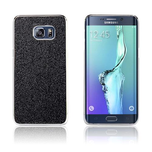 Holt Glitter Skal till Samsung Galaxy S6 Edge Plus – Svart