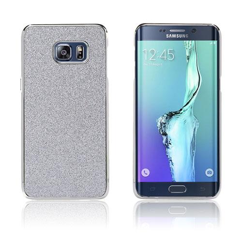 Holt Glitter Skal till Samsung Galaxy S6 Edge Plus – Silver