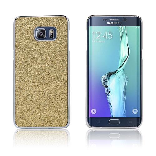 Holt Glitter Skal till Samsung Galaxy S6 Edge Plus – Guld