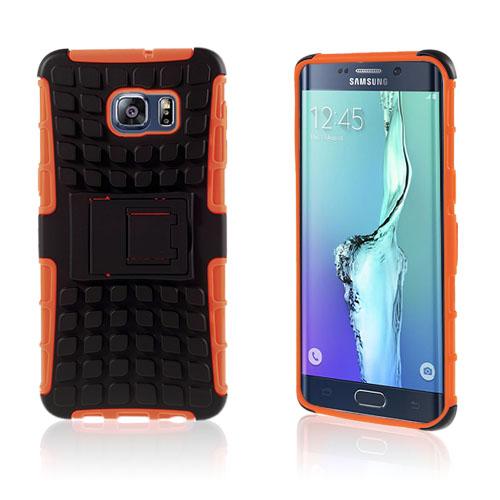Fosse Hybrid Skal till Samsung Galaxy S6 Edge Plus – Orange
