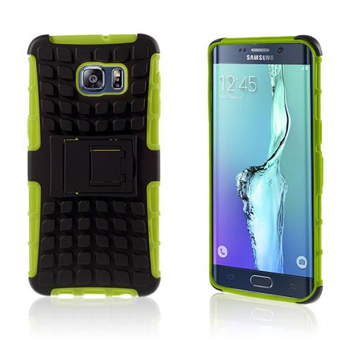 Fosse Hybrid Skal till Samsung Galaxy S6 Edge Plus – Grön