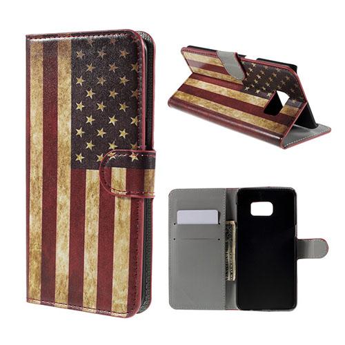 Moberg Fodral till Samsung Galaxy S6 Edge Plus – USA Flagga