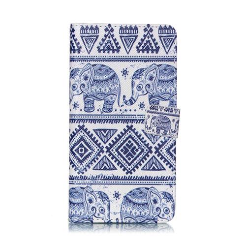 Moberg Fodral till Samsung Galaxy S6 Edge Plus – Tribal Elefant