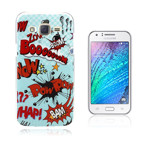 Wester Edge Samsung Galaxy J5 Skal – Boom Pow Bam!