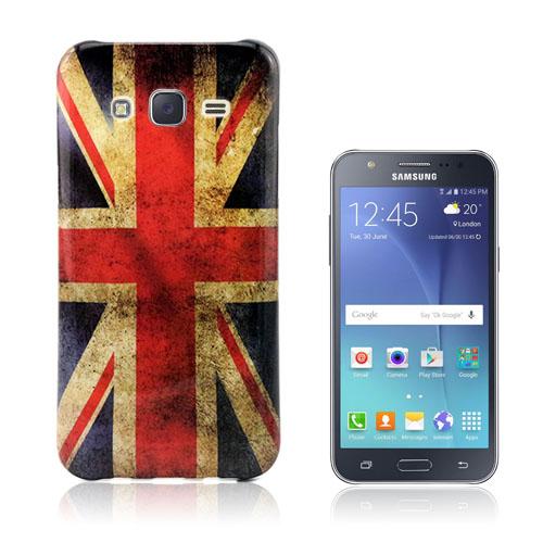 Westergaard Samsung Galaxy J5 Skal – Vintage UK Flagga