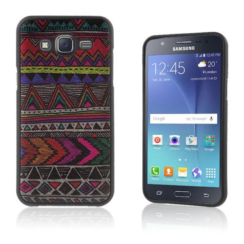 Westergaard Samsung Galaxy J5 Skal – Geometriskt Mönster
