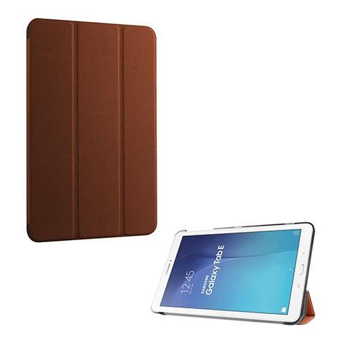 Gaarder Lines Samsung Galaxy Tab E 9.6 Läderfodral med Stativ – Brun