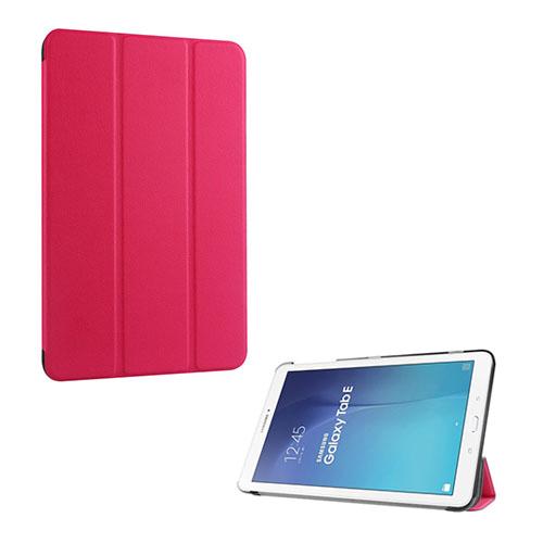 Gaarder Lines Samsung Galaxy Tab E 9.6 Läderfodral med Stativ – Het Rosa