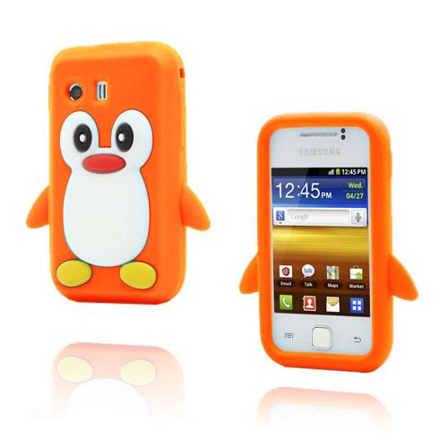 Funny Penguin (Orange) Samsung Galaxy Y Skal