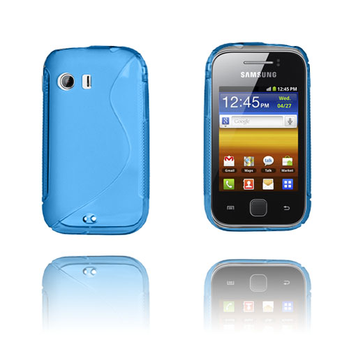 S-Line (Blå) Samsunbg Galaxy Y Skal