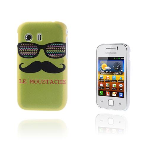 Deco (Grön Mustasch) Samsung Galaxy Y Skal