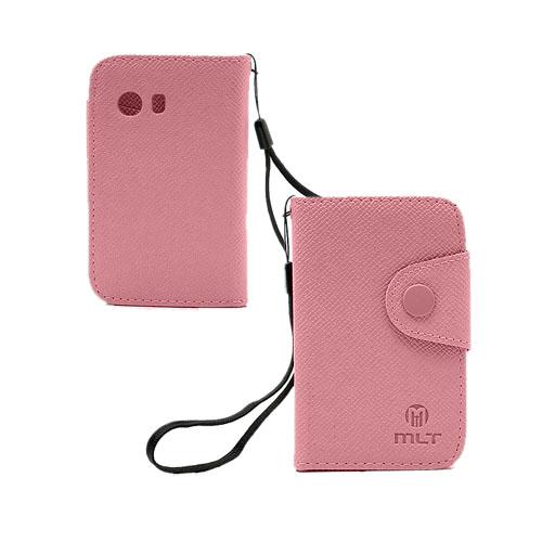 MLT (Rosa) Samsung Galaxy Y Läderfodral