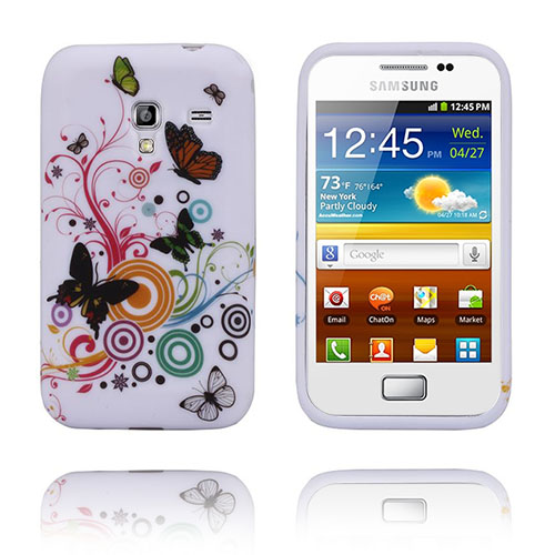 Symphony (Fjärilar) Samsung Galaxy Ace Plus Skal