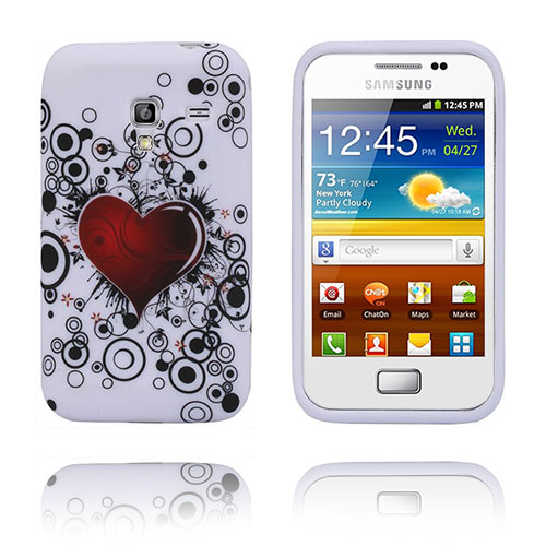 Symphony (Rött Hjärta) Samsung Galaxy Ace Plus Skal
