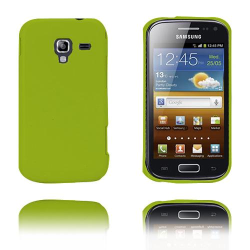 Alpha (Grön) Samsung Galaxy Ace 2 Skal