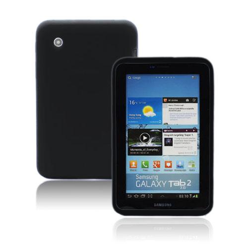Soft Shell (Svart) Samsung Galaxy Tab 2 7.0 Skal