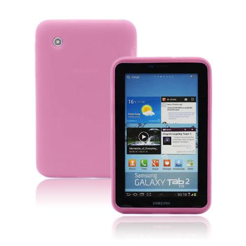 Soft Shell (Rosa) Samsung Galaxy Tab 2 7.0 Skal