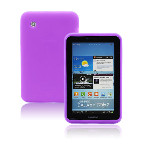 Soft Shell (Lila) Samsung Galaxy Tab 2 7.0 Skal