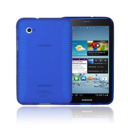 Gripper (Blå) Samsung Galaxy Tab 2 7.0 Skal