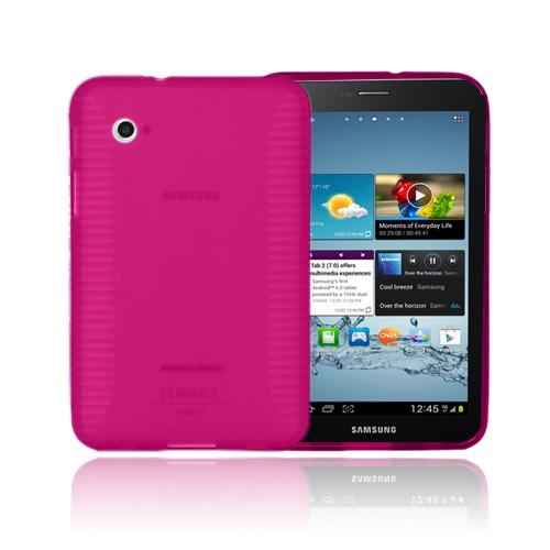 Gripper (Knallrosa) Samsung Galaxy Tab 2 7.0 Skal