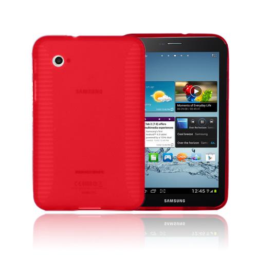 Gripper (Röd) Samsung Galaxy Tab 2 7.0 Skal