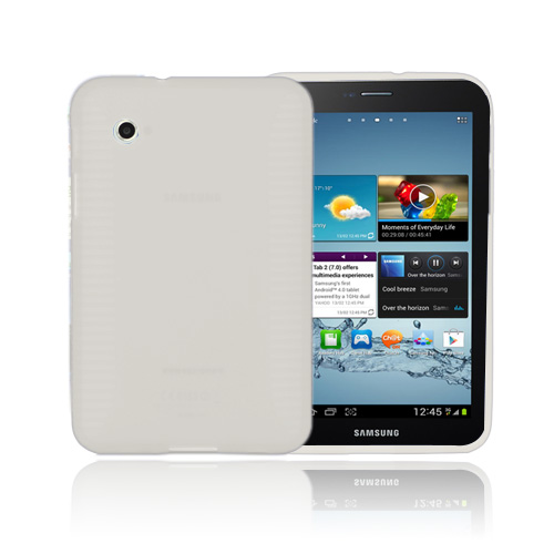 Gripper (Transparent) Samsung Galaxy Tab 2 7.0 Skal