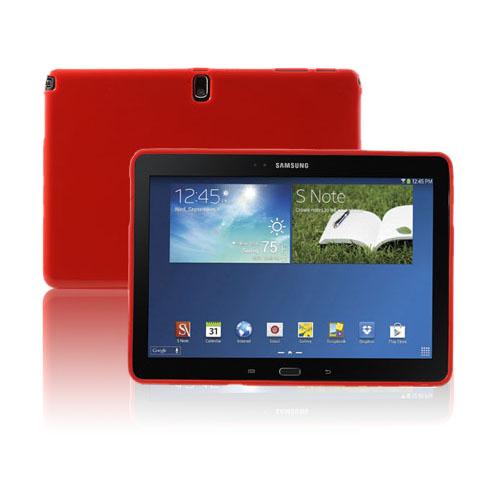 Soft Shell (Röd) Samsung Galaxy Note 10.1 (2014 Edition) Skal