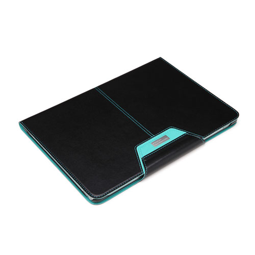 ROCK Excel (Svart) Samsung Galaxy Note 10.1 (2014 Edition) Läderfodral