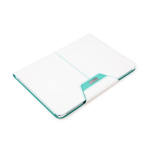 ROCK Excel (Vit) Samsung Galaxy Note 10.1 (2014 Edition) Läderfodral