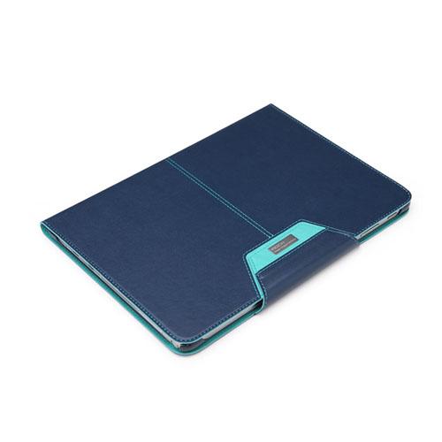 ROCK Excel (Blå) Samsung Galaxy Note 10.1 (2014 Edition) Läderfodral