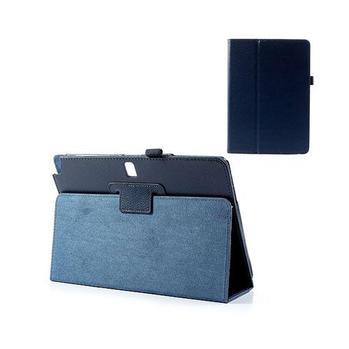 Wall Street (Blå) Samsung Galaxy Note 10.1 (2014 Edition) Läderfodral
