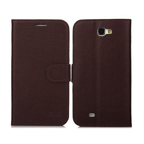 Emperor (Kaffe) Samsung Galaxy Note 2 Genuint Läderfodral