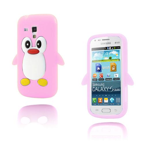 Funny Penguin (Rosa) Samsung Galaxy Trend Skal