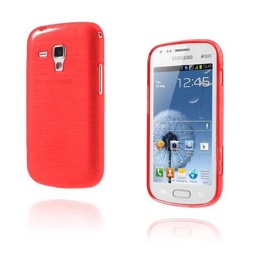 Scratch (Röd) Samsung Galaxy Trend Skal